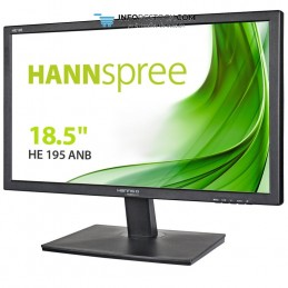 "MONITOR HANNS HE195ANB 18,5\"" 1366x768 5MS VGA ALTAVOCES NEGRO Hannspree HE195ANB"