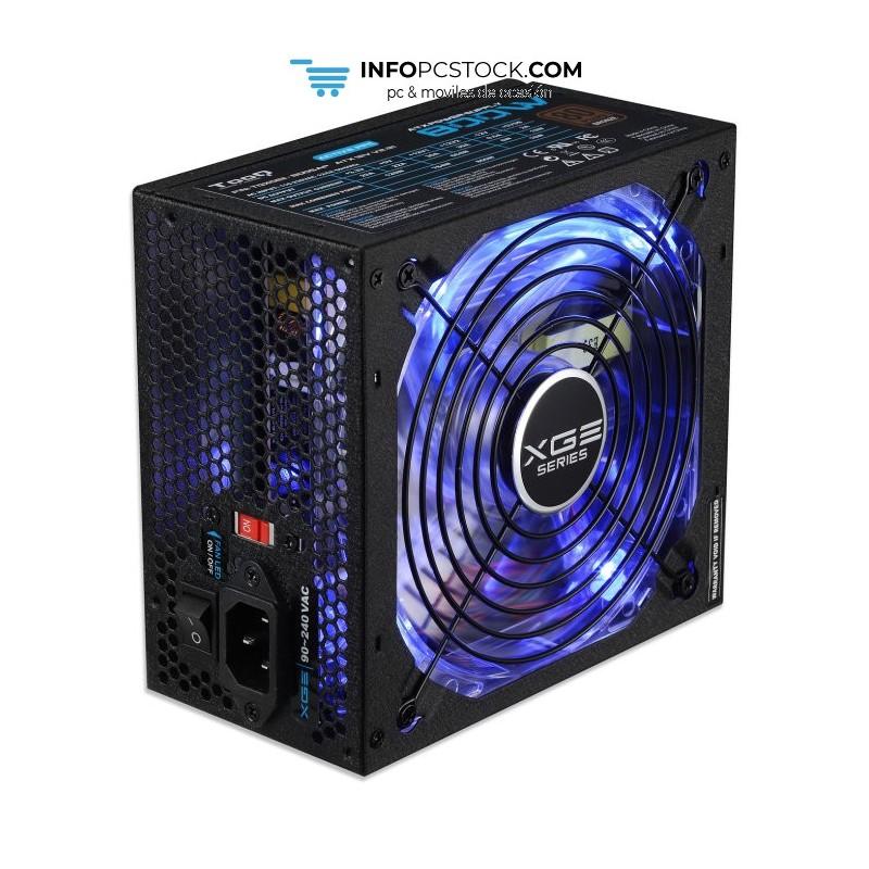 FUENTE A. TOOQ XGEII 800W 80+BRONZE LED TooQ TQXGEII-800SAP