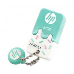 USB 3.0 HP 64GB X778W VERDE