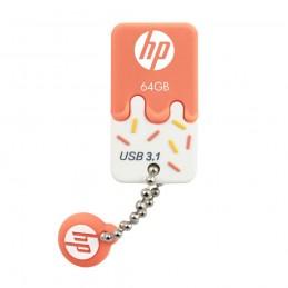 USB 3.0 HP 64GB X778W NARANJA