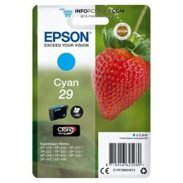 TINTA EPSON CLARIA 29 CIAN XP235 XP332 XP335 XP432 XP435 Epson C13T29824012