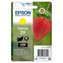TINTA EPSON CLARIA 29 AMARILLO XP235 XP332 XP335 XP432 XP435 Epson C13T29844012