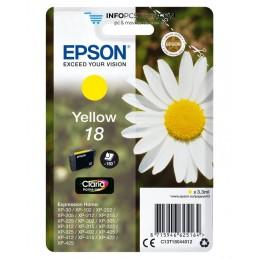 TINTA EPSON CLARIA 18 AMARILLO XP102 205 305 322 405 422 Epson C13T18044012