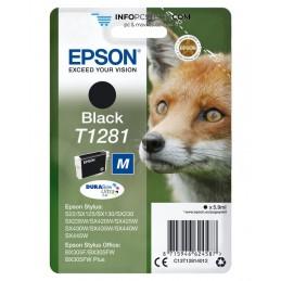TINTA EPSON STYLUS NEGRO S22 SX125 SX420W 425W OFFICE BX305 Epson C13T12814012