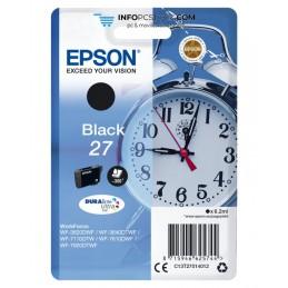 TINTA EPSON DURABRITE 27 NEGRO WF3000 Y WF7000 Epson C13T27014012