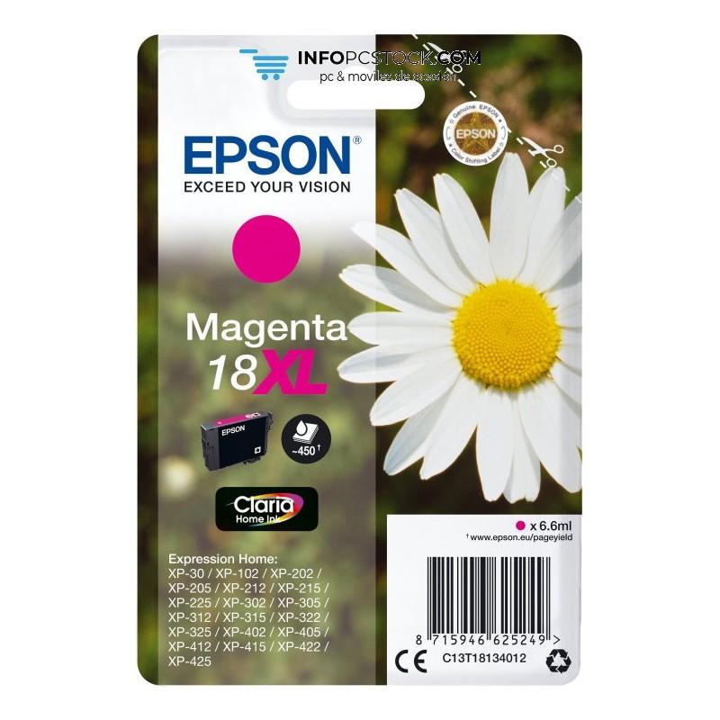 TINTA EPSON EXPRESION HOME 18XL MAGENTA XP102 205 215 305 405 Epson C13T18134012