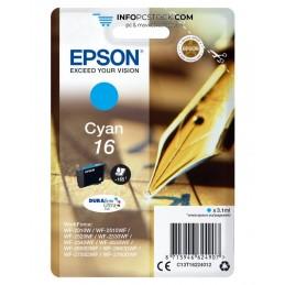 TINTA EPSON DURABRITE 16 CIAN WF2010W 2510WF 2520NF 2530WF 2540WF Epson C13T16224012