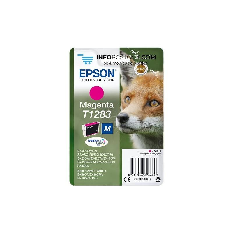 TINTA EPSON STYLUS MAGENTA S22 SX420W 425W OFFICE BX305F Epson C13T12834012