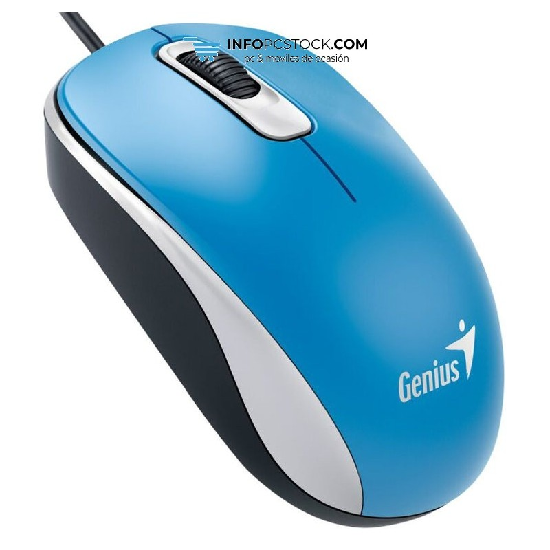 RATON GENIUS DX 110 USB ALAMBRICO AZUL Genius 31010116103