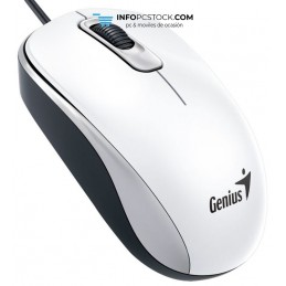 RATON GENIUS DX 110 USB ALAMBRICO BLANCO Genius 31010116102