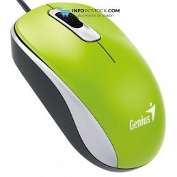 RATON GENIUS DX 110 USB ALAMBRICO VERDE Genius 31010116105