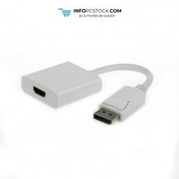ADAPTADOR GEMBIRD DISPLAYPORT MACHO A HDMI HEMBRA Gembird A-DPM-HDMIF-002-W