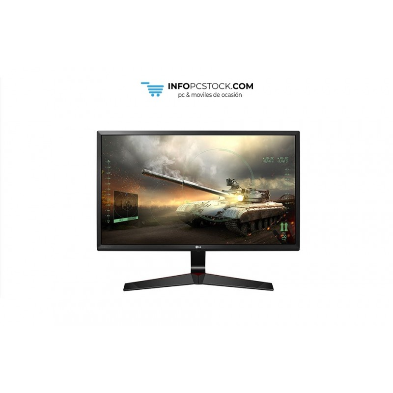 "MONITOR LG 27MP59G-P 27\"" IPS FHD 1MS DP HDMI GAMING NEGRO ROJO LG 27MP59G-P"