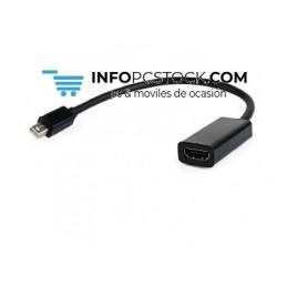 ADAPTADOR GEMBIRD MINI DISPLAYPORT A HDMI Gembird A-mDPM-HDMIF-02