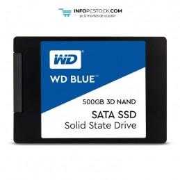 SSD WD BLUE 500GB SATA 7MM Western Digital WDS500G2B0A
