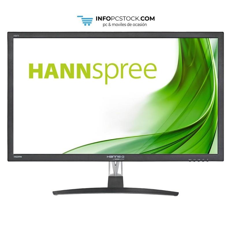 """MONITOR HANNS HQ272PPB 27\\"""" IPS 2560x1440 5MS NEGRO HDMI DVI ALTAV Hannspree HQ272PPB"""