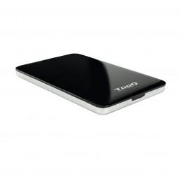 """CAJA EXTERNA TOOQ TQE-2538B 2,5"""" 9,5 MM SATA USB 3.0 3.1 NEGRO"""