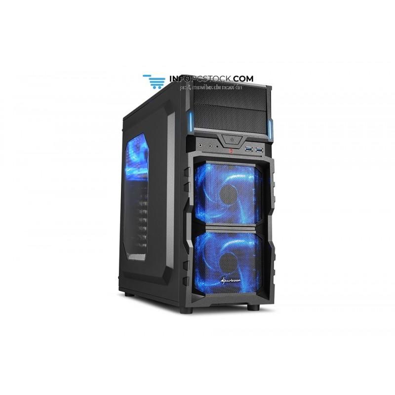CAJA SHARKOON VG5-W ATX 2XUSB3.0 SIN FUENTE AZUL Sharkoon 4044951017515
