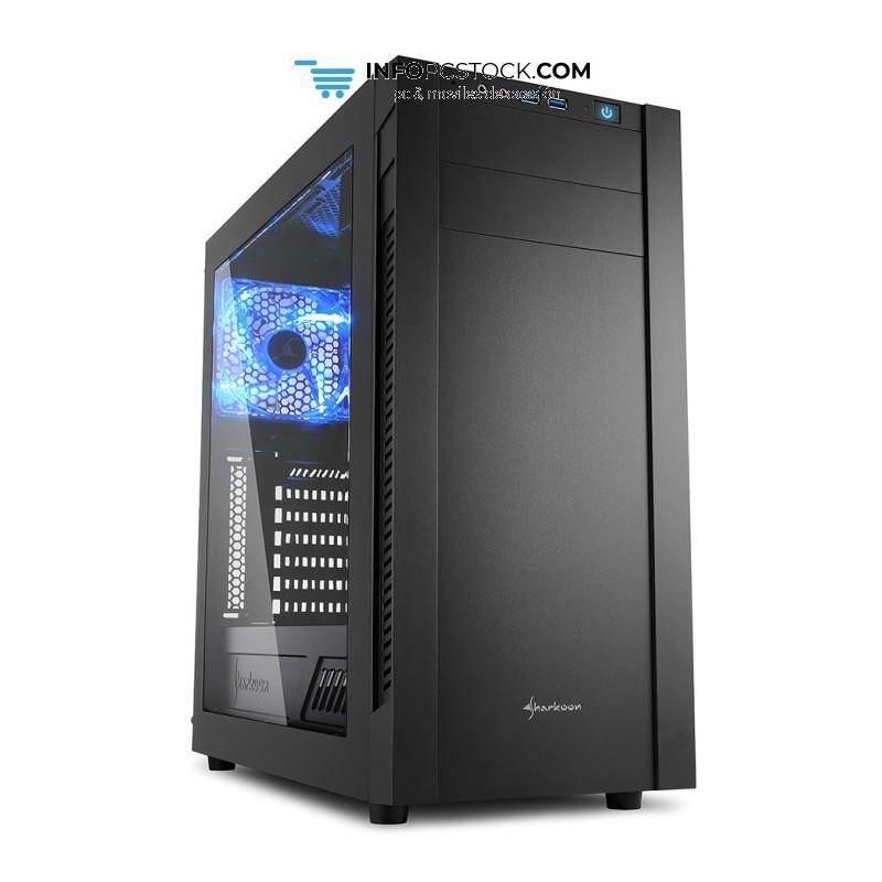 CAJA SHARKOON S25-W ATX 2XUSB3.0 SIN FUENTE Sharkoon 4044951019304