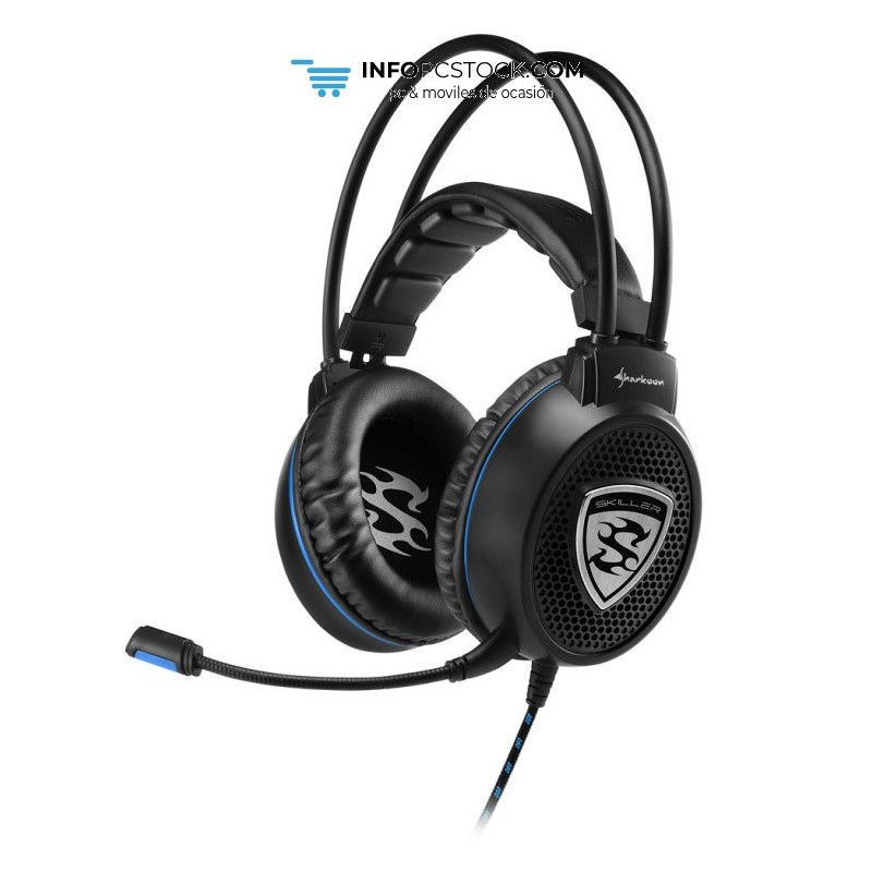 AURICULARES GAMING SHARKOON SKILLER SGH1 NEGRO MICROFONO ALAMBRICO Sharkoon 4044951018284