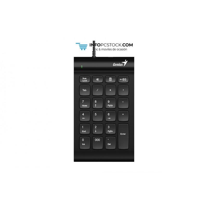 TECLADO GENIUS NUMERICO i130 USB NEGRO Genius 31300003400