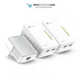POWERLINE WIFI TP-LINK AV600 KIT 3UDS 2 PORT TP-LINK TL-WPA4220 TKIT