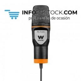 MICROFONO CONDENSADOR WOXTER MIC STUDIO NEGRO Woxter WE26-019