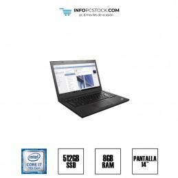"LENOVO T470S, INTEL I7 7600U 2.90 GHZ, 8 RAM, 512 SSD, 14\\"", TECLADO INGLES US Lenovo 1s20hgs4rm00pc0uzsdh"