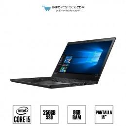 """LENOVO T470, INTEL I5 6300U 2,50 GHZ, 8 RAM, 256 SSD, 14\\"""" Lenovo 1S20jns1592hpf0zsmjt"""