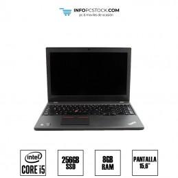 """LENOVO T550, INTEL I5 5300U 2,30 GHZ, 8 RAM, 256 SSD, 15,6\\"""" Lenovo 1S20cks00x00r90htnst"""