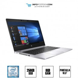 "HP 830 G6, INTEL I5 8265U 1,80 GHZ, 8 RAM, 256 SSD, 13,3\"" HP 4WE08AV"