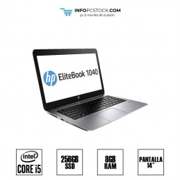 "HP ELITEBOOK FOLIO 1040 G1, INTEL I5 4300U 2,50 GHZ, 8 RAM, 256 SSD, 14\"" HP E4A63AV"
