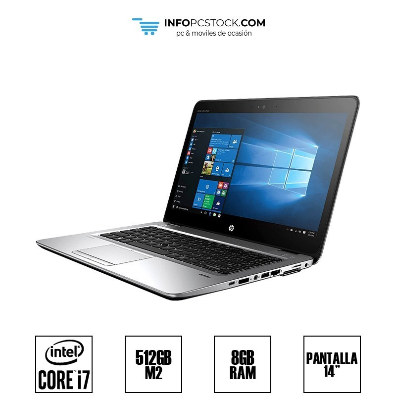 "HP ELITEBOOK 840 G3, INTEL I7 6600U 2,81 GHZ, 8 RAM, 512 M2, 14\"" HP L3C67AV"