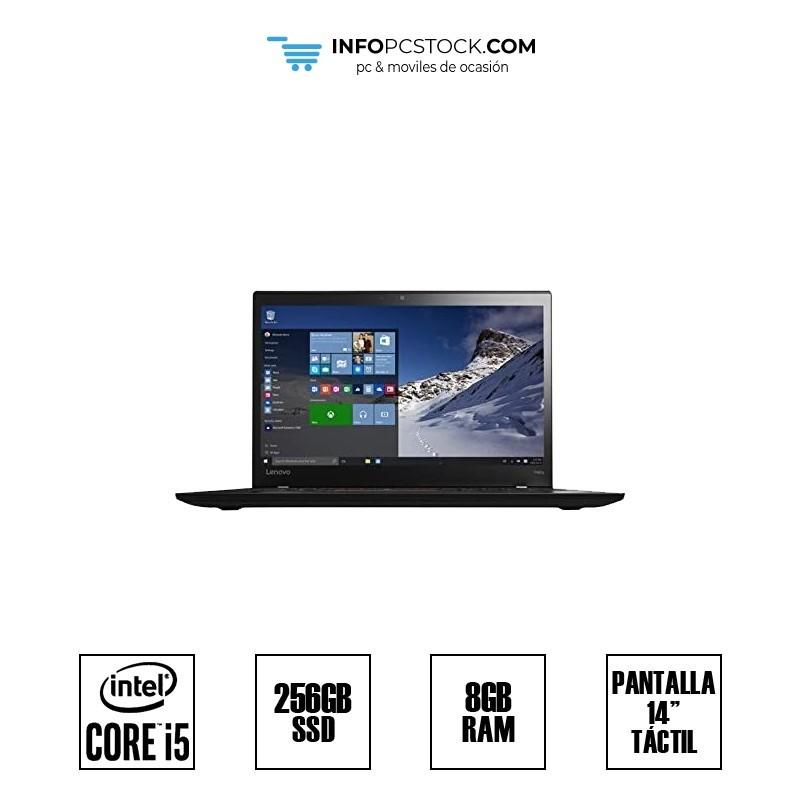 "LENOVO T460S, INTEL I5 6300U 2,50 GHZ, 8 RAM, 256 SSD, 14\\"" TÁCTIL HP SL10K24790IS"