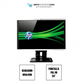 "HP Compaq LA2405x, PANTALLA LED DE 24\"", RESOLUCIÓN 1920x1200 HP A9P21AA"