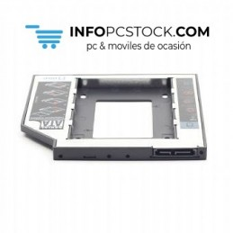 "BASTIDOR GEMBIRD HD SATA 2,5\"" A 5,25\\"" SLIM PC DVD RW 9,5MM Gembird MF-95-01"