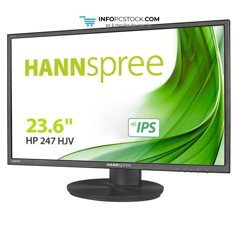 """MONITOR HANNS HP247HJV 23,6\\"""" 1920x1080 8MS HDMI DVI REGULABLE NEGRO Hannspree HP247HJV"""