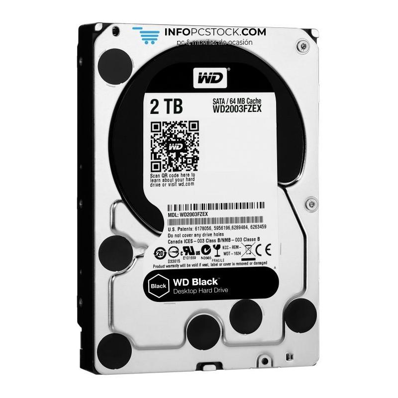 DISCO WD BLACK 2TB SATA3 64MB Western Digital WD2003FZEX