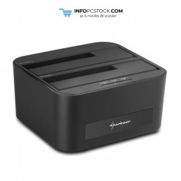 "DOCKING STATION SHARKOON QUICKPORT XT DUO 2.5\""/3.5\\"" SATA USB 3.0 CLONE FUNCTION Sharkoon 4044951016815"