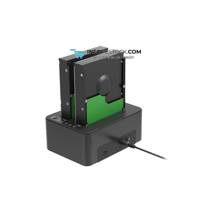 DOCKING STATION SHARKOON QUICKKPORT DUO CLONE SATA USB 3.1 Sharkoon 4044951018970