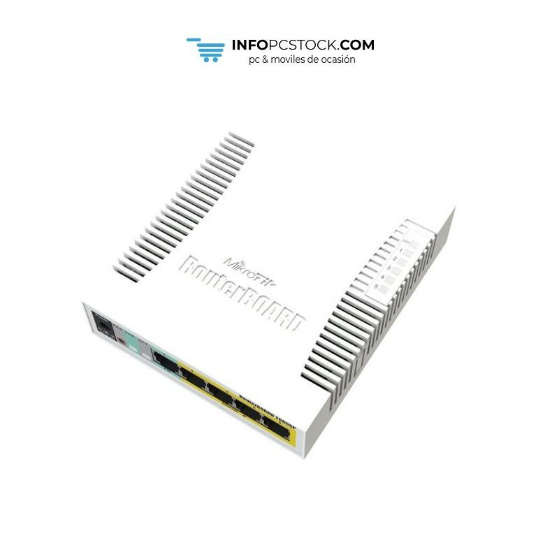 SWITCH MIKROTIK RB260GSp - CSS106-1G-4P-1S Mikrotik CSS106-1G-4P-1S