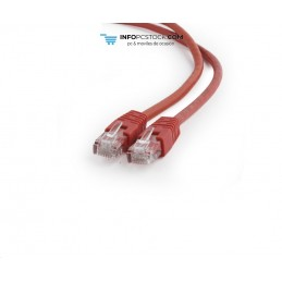 CABLE RED GEMBIRD UTP CAT6 3M ROJO Gembird PP6U-3M/R
