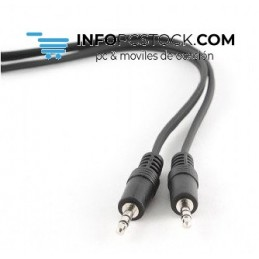 CABLE AUDIO GEMBIRD CONECTOR 3,5MM 1,2M Gembird CCA-404