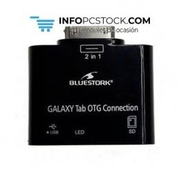LECTOR TARJETA BLUESTORK TABLET SAMSUNG GALAXY Bluestork BS-GAL-RDR/SD