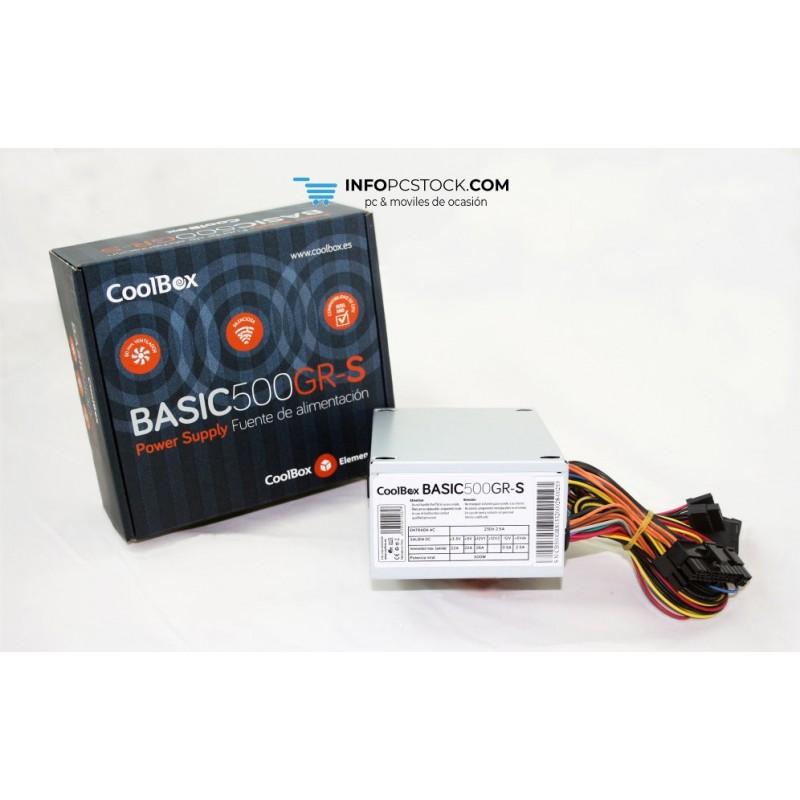 FUENTE DE ALIMENTACION COOLBOX SFX BASIC 500GR-S CoolBox FALCOO500SGR