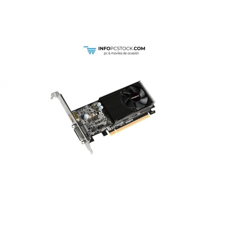 TARJETA GRAFICA GIGABYTE GT 1030 SILENT 2GDDR5 (LP) Gigabyte GV-N1030D5-2GL