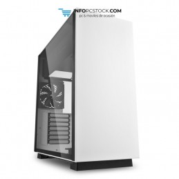 CAJA SHARKOON PURE STEEL ATX 2XUSB3.0 SIN FUENTE BLANCO Sharkoon 4044951026609