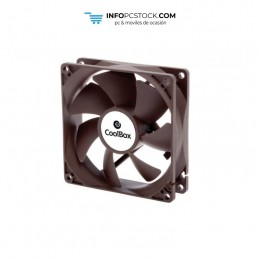 VENTILADOR CAJA COOLBOX 80MM 3-PIN 1600RPM CoolBox COO-VAU080-3