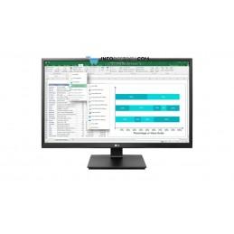 "MONITOR LG 24BK550Y-B 23,8\\"" IPS FHD 5MS USB DVI HDMI VGA DP PIVOT AJUST MM NEGRO LG 24BK550Y-B"