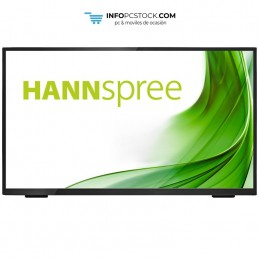 "MONITOR HANNS HT248PPB 23,8\"" 1080p VGA HDMI DP 16:9 8ms MM HUB 3.0 TACTIL NEGRO Hannspree HT248PPB"